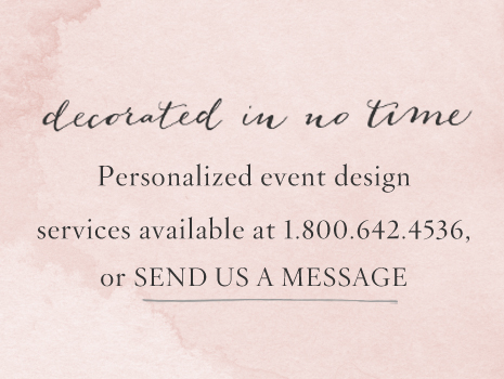 Contact a Décor Stylist