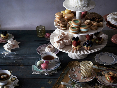 Tablescape Idea: Vintage Tea Party