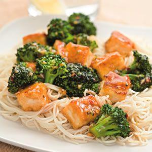 Tofu & Broccoli Stir-Fry