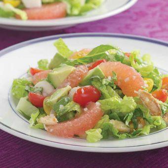 Seafood Salad with Citrus Vinaigrette