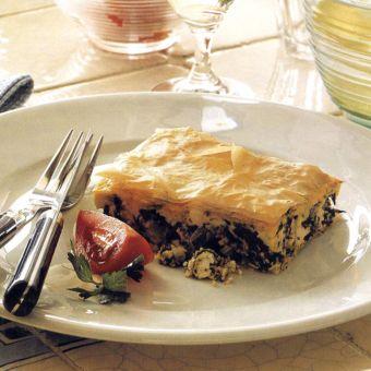 Spinach Filo Pie