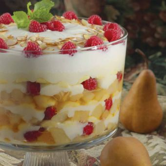Roasted Pear Trifle
