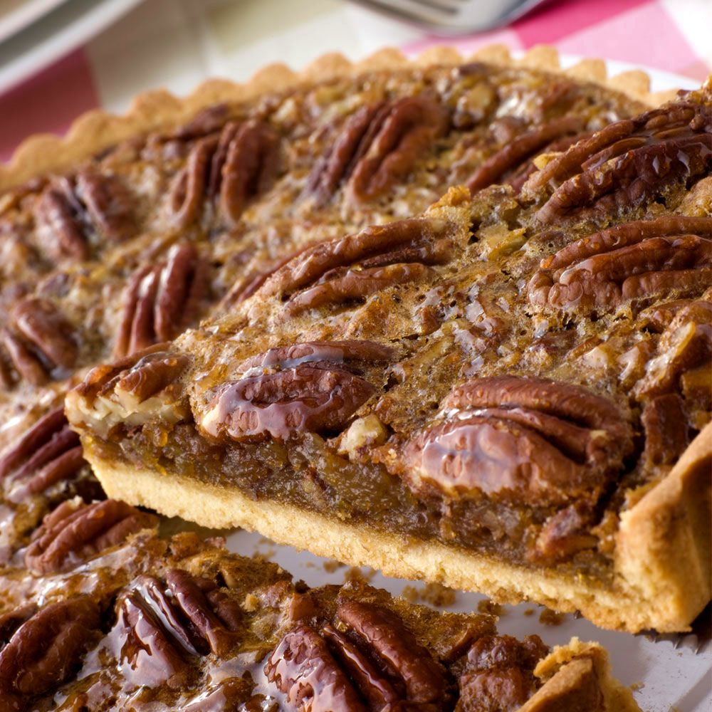 Spirited Orange-Pecan Frangipane Tart