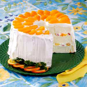 Fruit-Filled Angel Food Torte