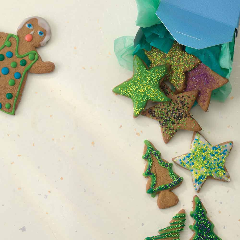 The Carlsmith Family's Gingerbread Cookies