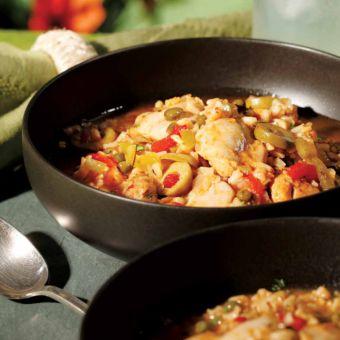 One-Dish Chicken & Rice (Asopao de Pollo)