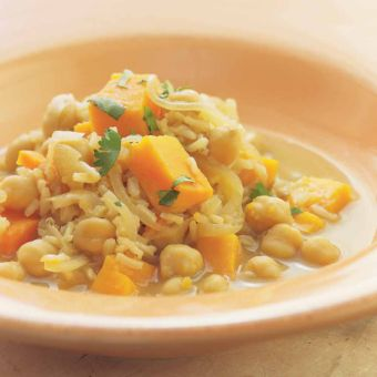 Middle Eastern Chickpea & Rice Stew