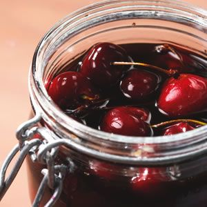Bourbon Cherries