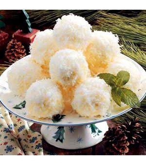 Ice Cream Snowballs