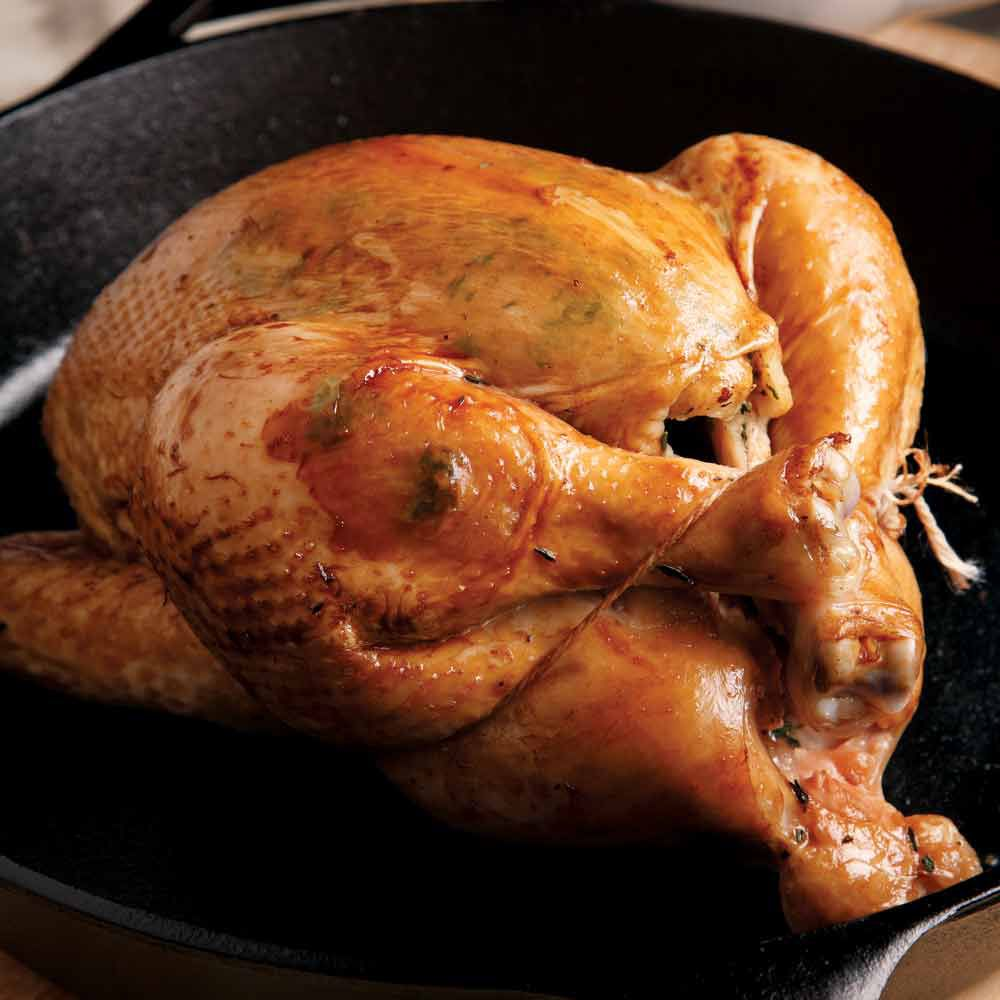Pan-Roasted Chicken & Gravy