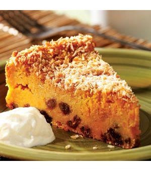 Sweet Potato Pudding Cake