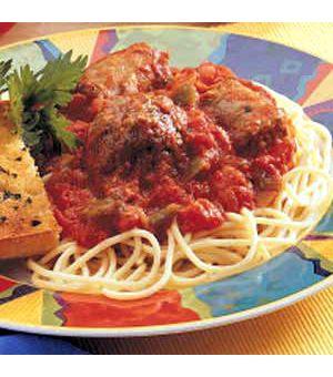 Mom's Hearty Spaghetti