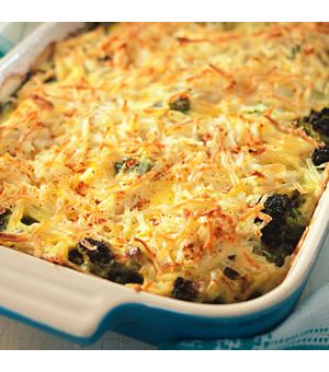 Broccoli, Beef and Potato Hot Dish