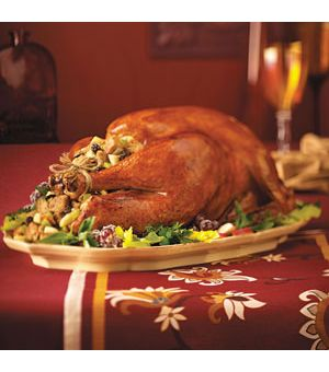 Turkey with Apple Stuffing