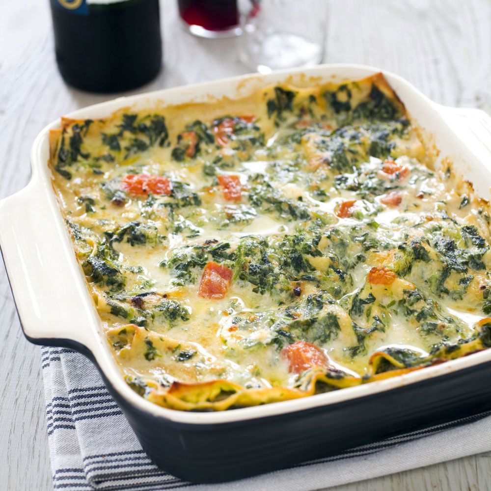 Super-Easy Spinach Lasagna