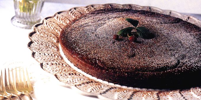 Warm Chocolate Cake