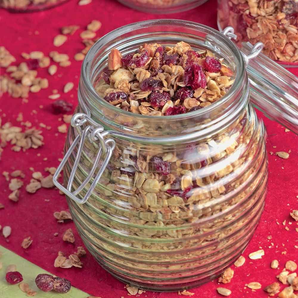 Cranberry-Almond Granola