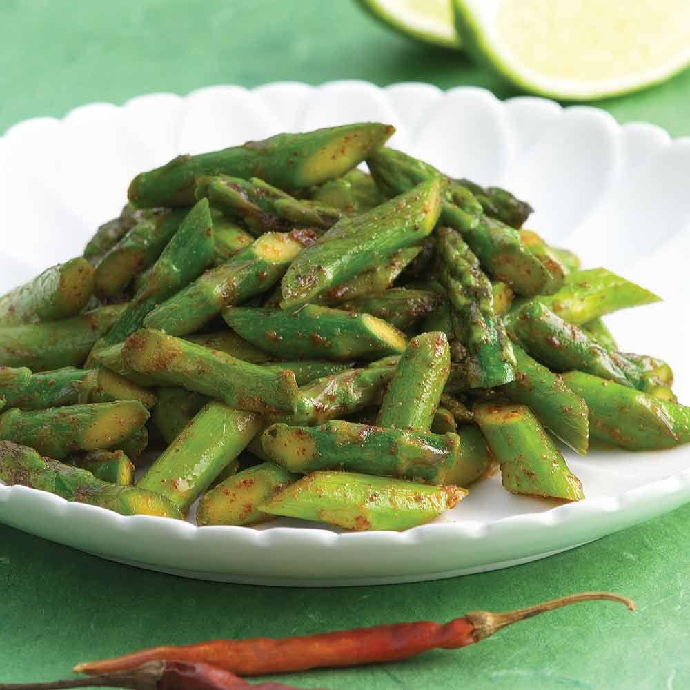 Chili-Spiced Asparagus