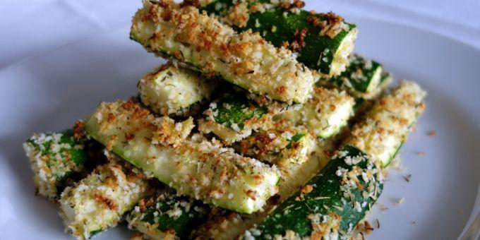 Parmesan-Thyme Zucchini Wedges