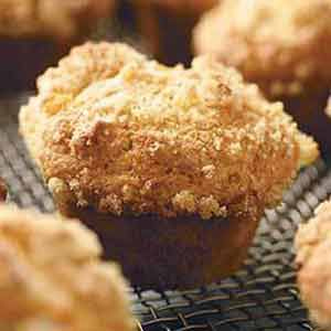 Corn and Apricot Muffins with Orange Essence