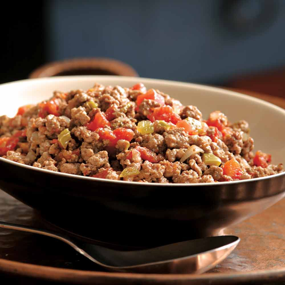 Lean & Spicy Taco Meat