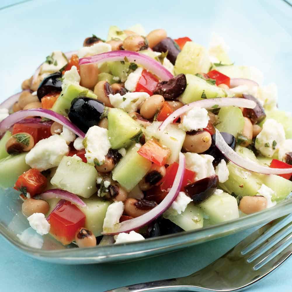Cucumber and Black-Eyed Pea Salad