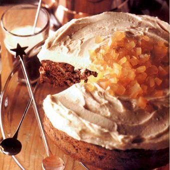 Chocolate, Ginger and Walnut Cake