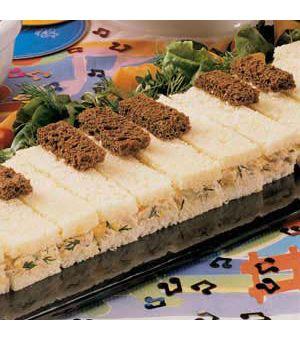 Tune-a-Piano Sandwiches