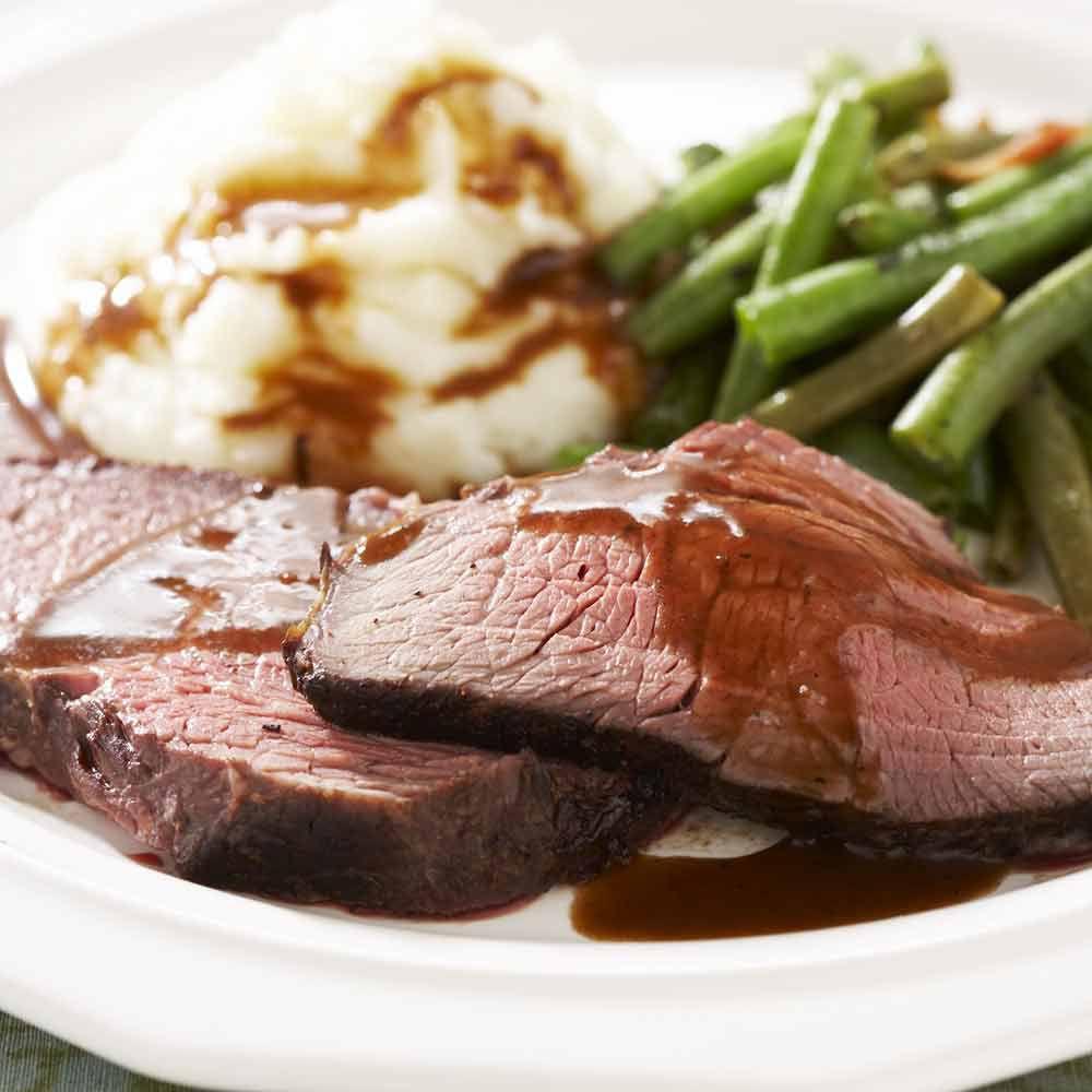 Classic Roast Beef and Gravy