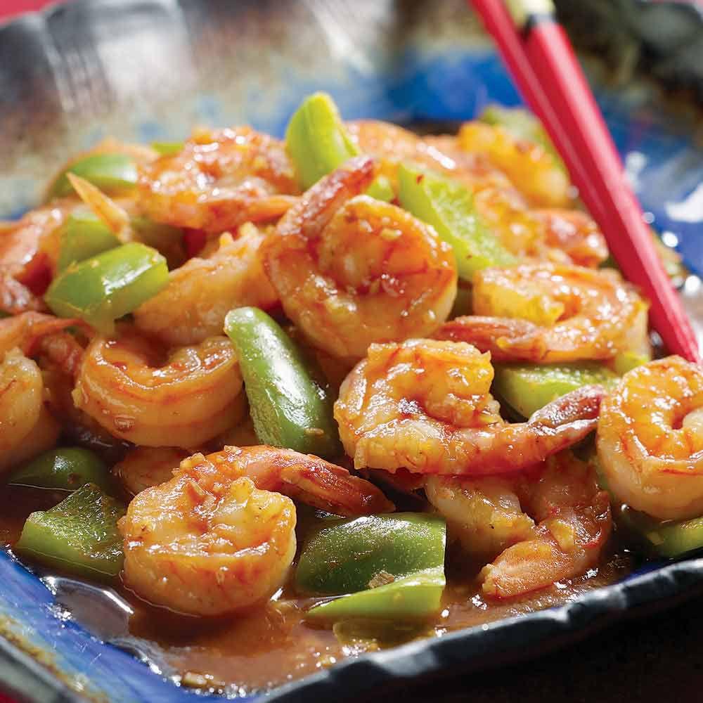 Sichuan-Style Shrimp