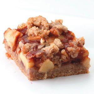 Apple-Cinnamon Fruit Bars