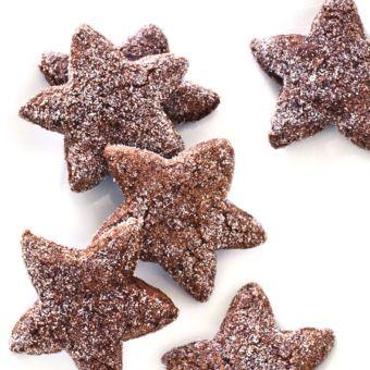 Chocolate Spice Cookies (Basler Brunsli)