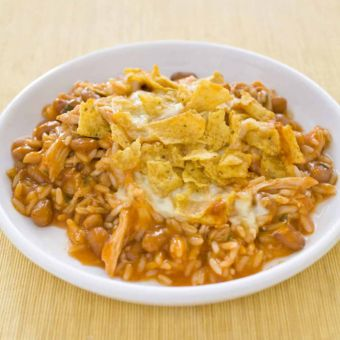 Chicken and Rice Enchilada Casserole