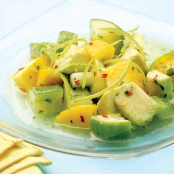 Tropical Cucumber Salad
