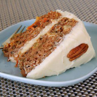 Super-Moist Carrot Cake