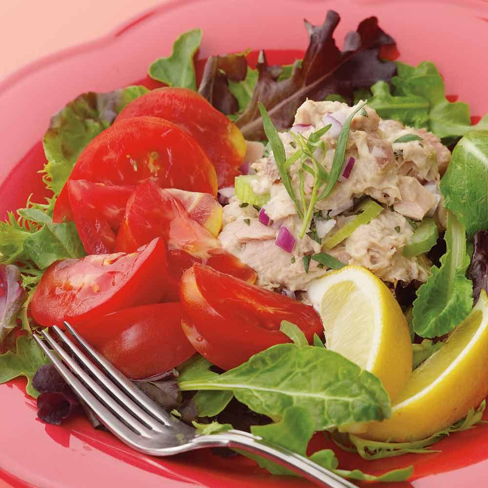 Tomato, Tuna & Tarragon Salad