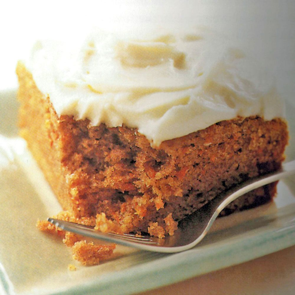 Simple Carrot Cake with Cream Cheese Frosting