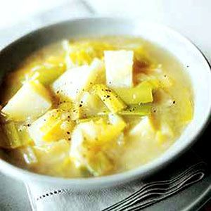 Country Style Potato Leek Soup