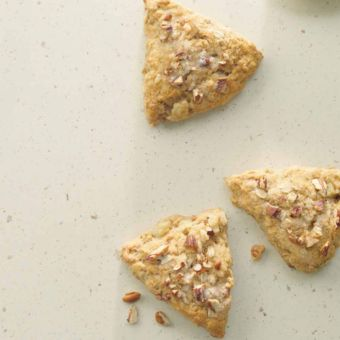Maple Nut & Pear Scones