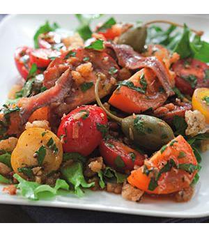 Spanish-Inspired Tomato Salad