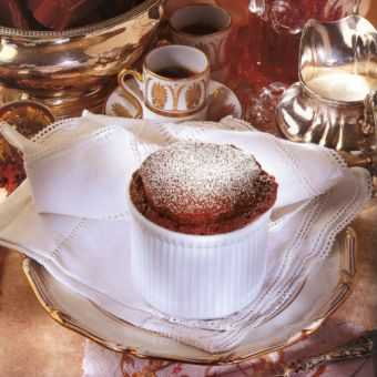 Hot Chocolate Souffles