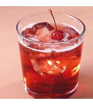 Bourbon-Cherry Seltzers