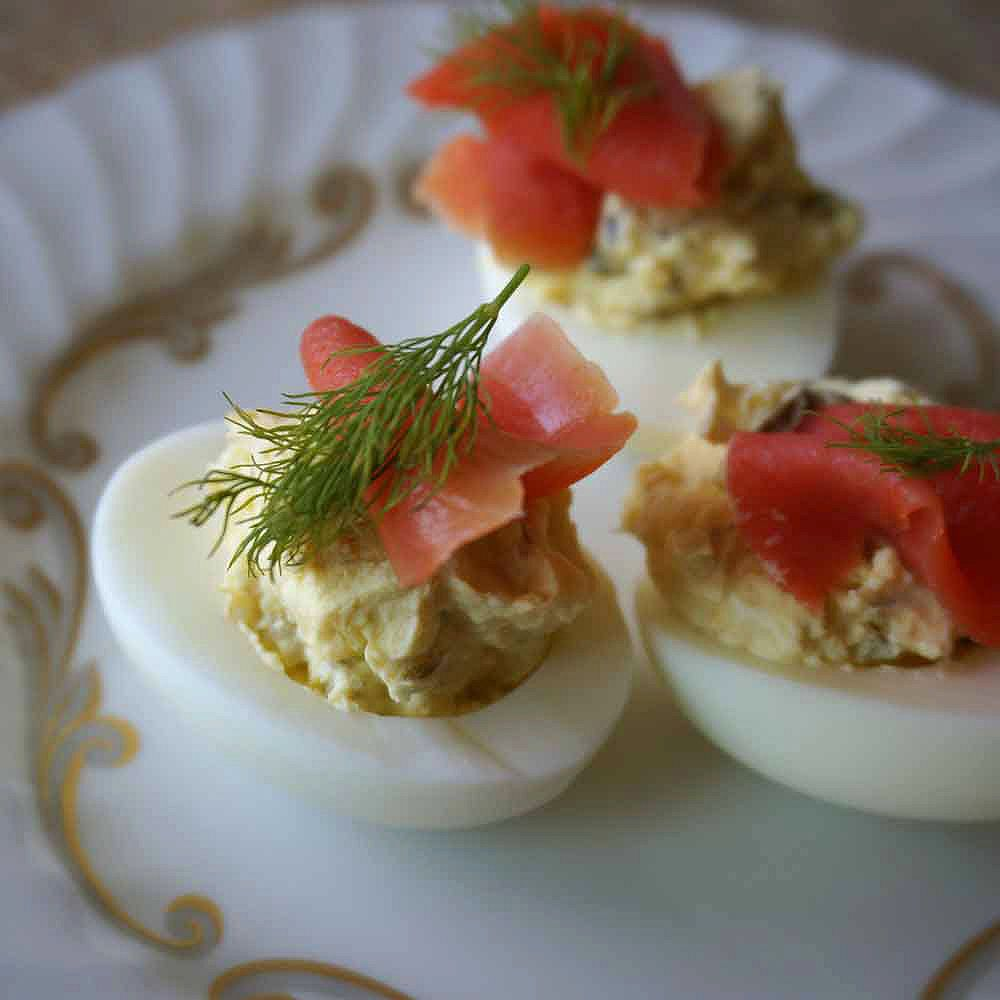 Smoked Salmon Deviled Eggs Recipes — Dishmaps