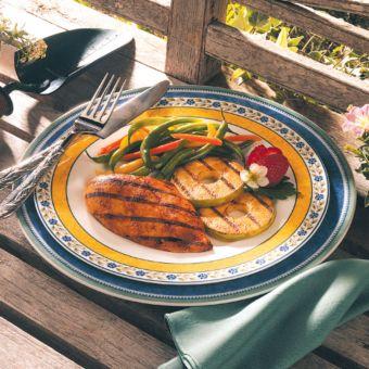 Grilled Apple Chicken