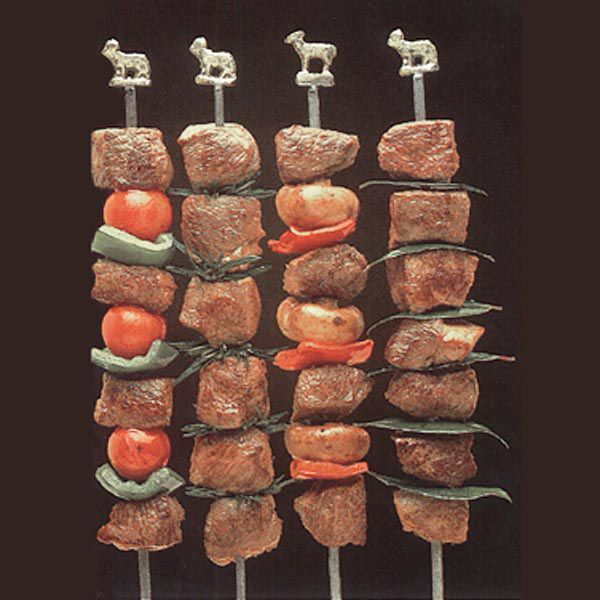 Herbed Lamb Kebabs