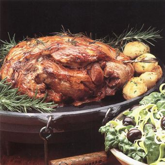 Butterflied Lamb with Rosemary