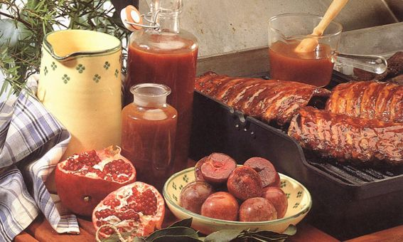 Plum Barbecue Sauce