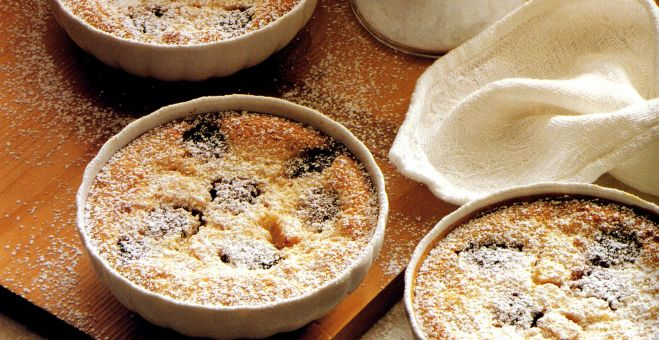 Mixed Fruit Clafouti