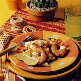 Grilled Shrimp with Mango Salsa