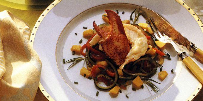 Lobster Salad with Lemon Vinaigrette